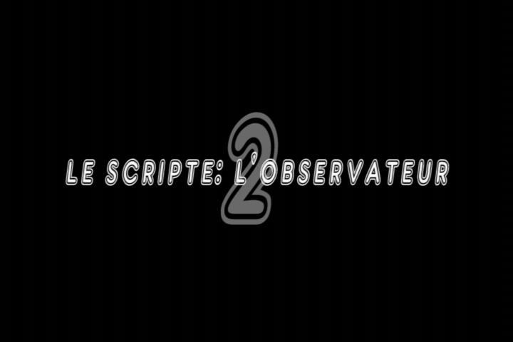 Le scripte : l'observateur 2