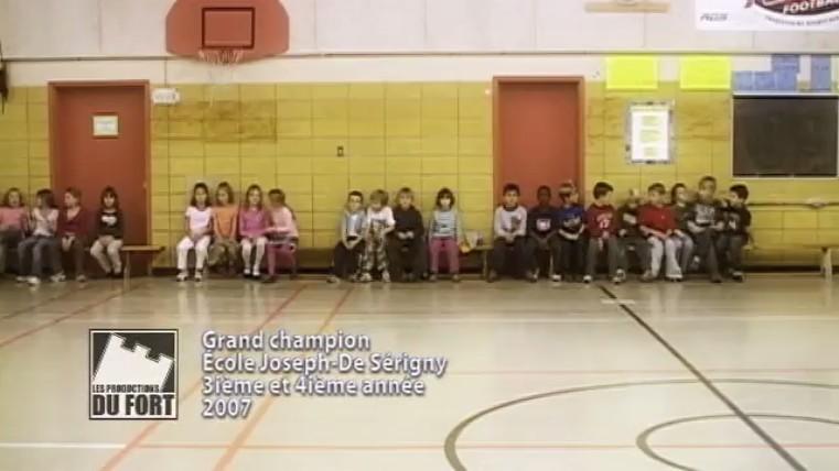 Exemple d'un vidéoclip : grand champion