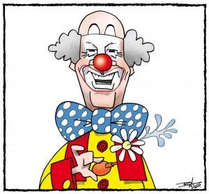 Jean Charest,Patof,clown,étudiants