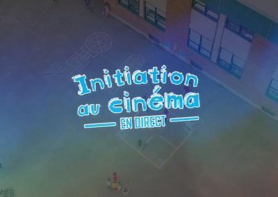 Initiation au cinéma en direct (2016)
