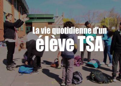 la vie quotidienne d'un élève TSA